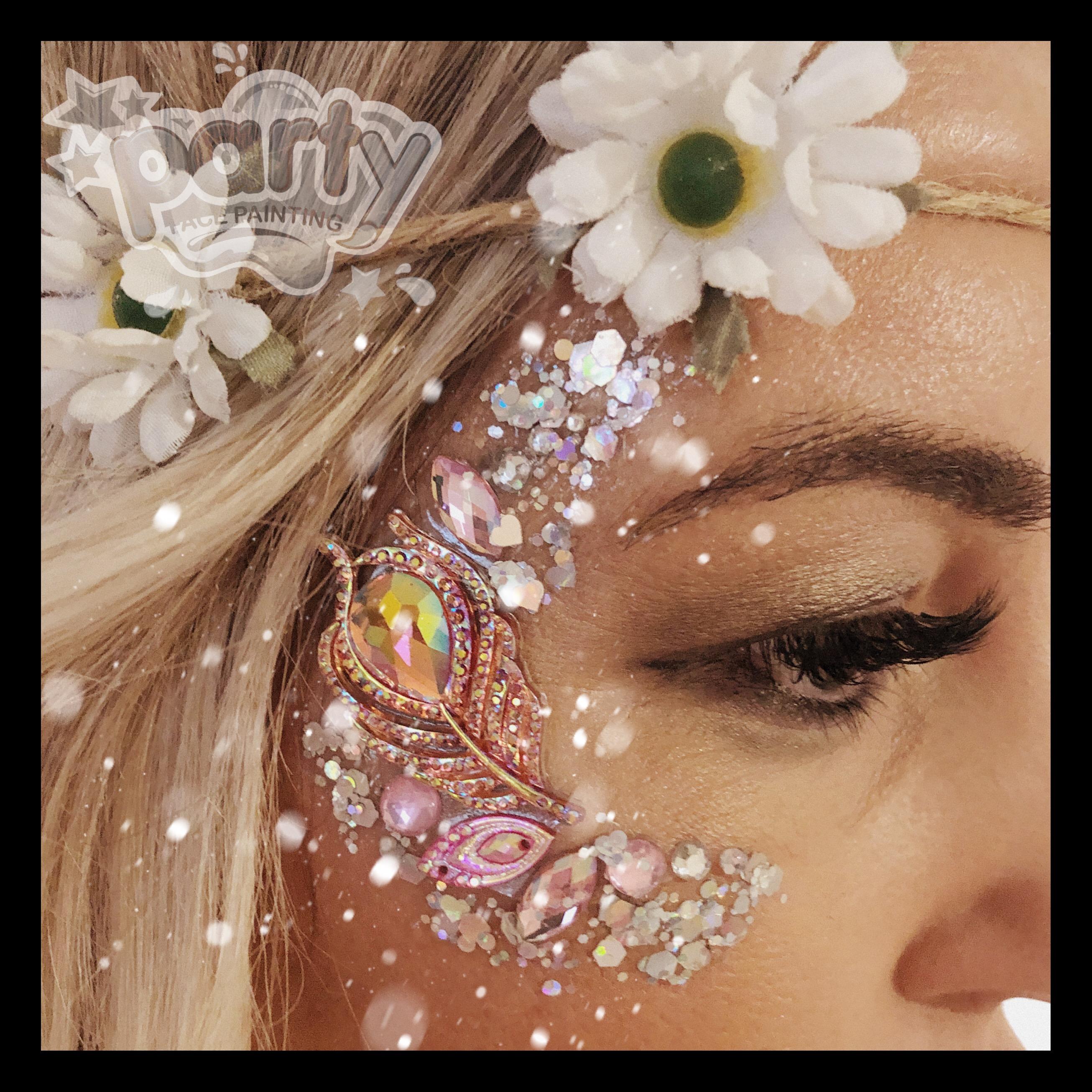 Festival Glitter Faces