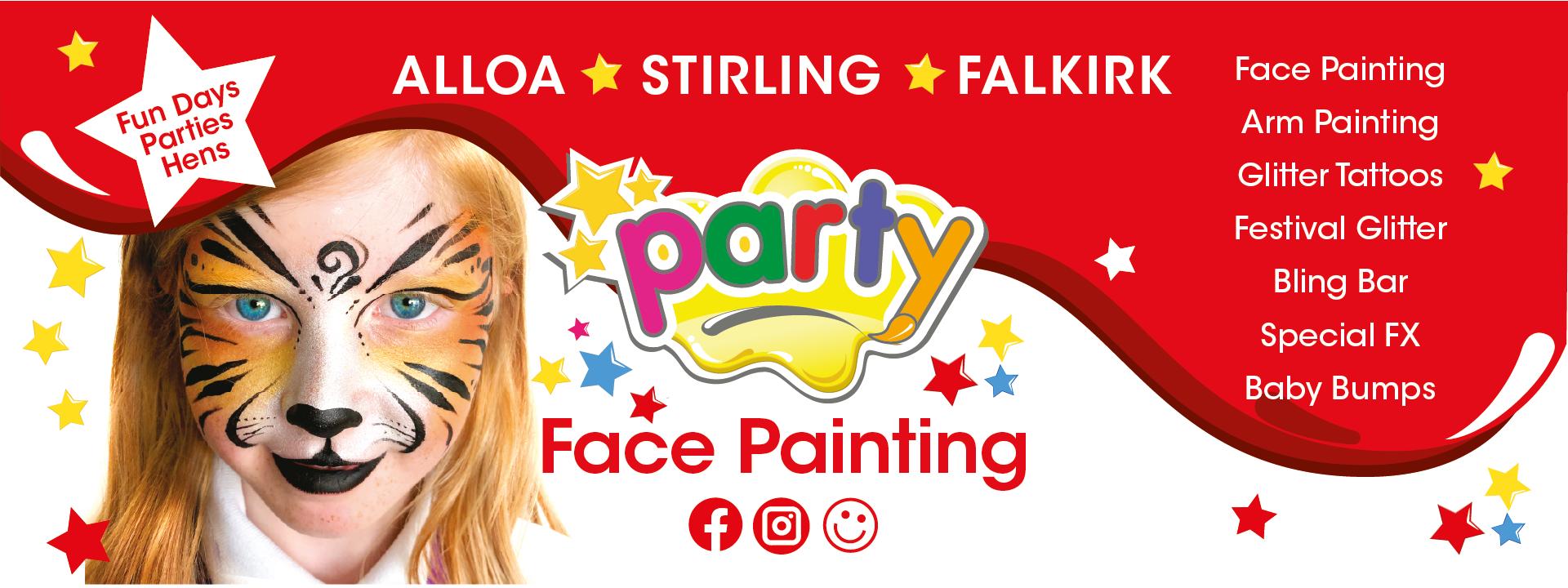 Party Face Painter
